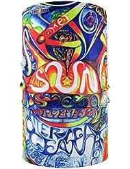 HeadLOOP Écharpe buff multifonctions en microfibre, multicolore