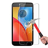cophone® Pack de 2 Verrestrempé MOTO E4 Plus , film de protection écran Premium Anti Chocs et Casse, Anti empreintes, bords arrondis,dureté max 9H, haute définition Glass Screen Protector Vitre Tempered 2,5d