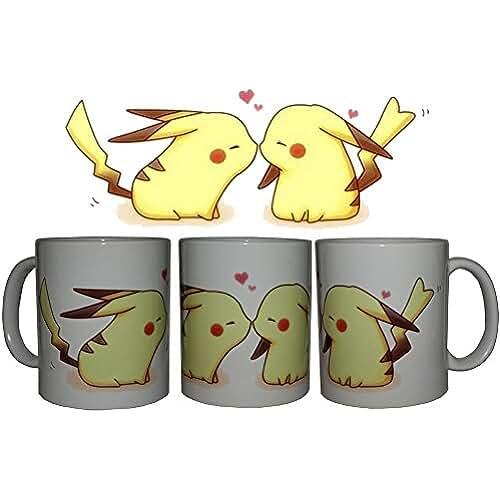 dia del orgullo friki Taza Pikachu beso + chapa