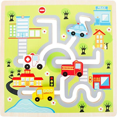 Small Foot by Legler Schiebe-Puzzle City aus Holz Preisvergleich