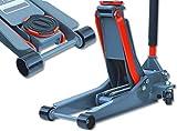 3t Quick Lift Profi Rangier-Wagenheber - extra flach mit Doppelkolbenantrieb - Hydraulisch - Pump Wagenheber