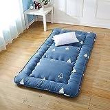YCTTMM Tatami-matten verdicken,Rollende Bett Thai-Massage Bett Matratzen Tri-klapp-matratze-A 1.5 x 2.0m