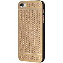 iShield SE Light Cases for iPhone SE/5/5S with Swarovski Elements, Modelo y Marca: iShield SE light Case Champagne Lujo Dorado