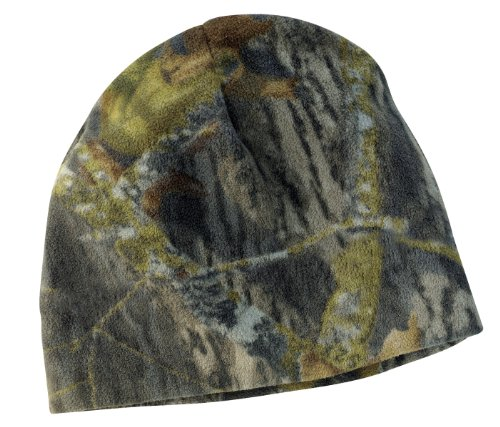 Port Authority Camouflage Fleece Beanie. C901 Realtree Xtra OSFA