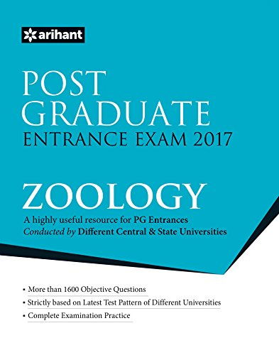 Post Graduate Entrance Exam 2017 - Zoology
