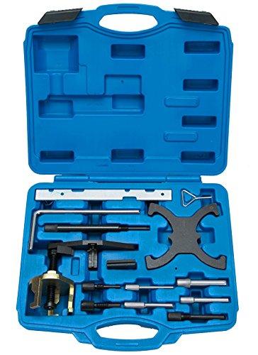FreeTec Motor Einstell Werkzeug Zahnriemen Arretierung Schwungrad Sperren Werkzeug für Ford Focus Fiesta Mondeo