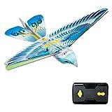Springdoit 24 GHz Fernbedienung elektronische Papagei Vogel RC Spielzeug Fernbedienung Papagei Vogel Weihnachten Kinder Geschenk - blau