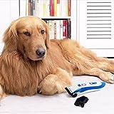 Tontec® Tierhaarschneider für Hunde oder Katzen Akku Schermaschine Tierhaarschneidemaschine Trimmer Rasierer Keramik Tierschermaschine - 6