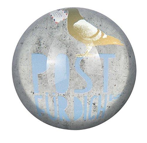 Räder P & P Glas Briefbeschwerer Post 78mm