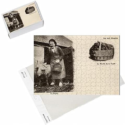 Photo Jigsaw Puzzle of A Crack Truffle-hunting team setting out,