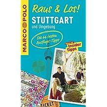 MARCO POLO Raus & Los! Stuttgart und Umgebung: Guide und große Erlebnis-Karte in praktischer Schutzhülle