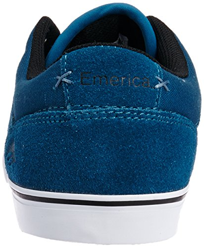 Emerica - The Herman G6 Vulc, Scarpe da skateboard da uomo Blu (Blue/Black/White 448)