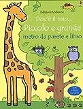eBook Gratis da Scaricare Dov e il mio piccolo e grande Metro da parete Con adesivi scrivibili Con libro (PDF,EPUB,MOBI) Online Italiano