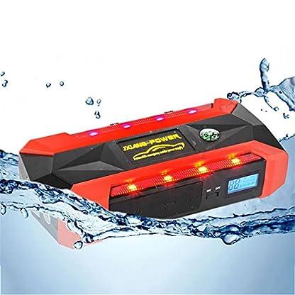 518lYNDJRKL. SS416  - WJJ- Car Jump Starter 600A Aumento máximo de 13600mAh Fuente de alimentación de emergencia Fuente de emergencia de arranque automático y luz de flash LED ultra brillante para SOS
