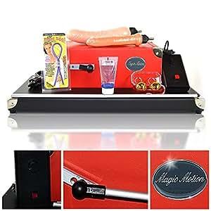 Dildo Fickmaschine Magic Motion Pleasure Standard - Eine Sexmaschine Made in Germany! 3 Hubtiefen, frei einstellbar. 6, 8,10 cm! Ca. 300 Stöße pro Minute & Boost-Taste! Schwere standfeste Ausführung!