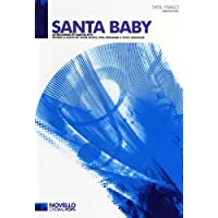 Eartha Kitt: Santa Baby - SATB/Piano. For Coro SATB, Accompagnamento di Pianoforte