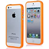 iProtect Premium Bumper für das Apple iPhone 5 / 5s in orange