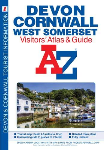 Devon, Cornwall and West Somerset Visitors' Atlas (A-Z Street Maps & Atlases) (Map A-z London)