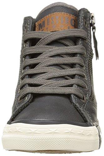 Mustang 5036-502-259 Unisex-Kinder Hohe Sneakers Grau (259 graphit)