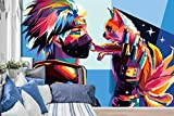 3D Naruto Graffiti 42 Japan Anime Fond d'écran Mur Peintures Murales Amovible Peinture Murale | Auto-adhésif Papier Peint FR Summer (Vinyle (sans colle et amovible), 【 82'x58'】208x146cm(WxH))