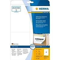 HERMA SuperPrint (105 x 148 mm), etichette removibili, colore: Bianco