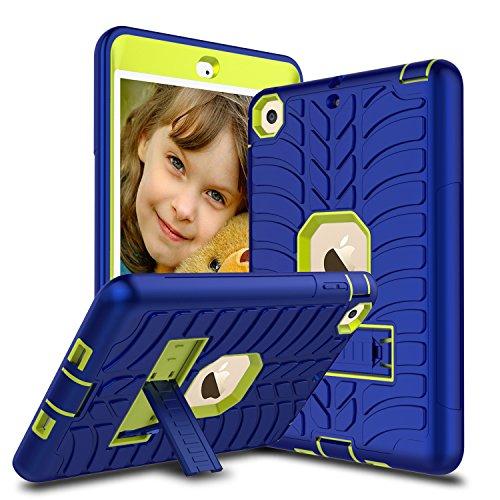 Schutzhülle für iPad Mini, Mini 2Hülle, Mini 3Fall, venoro [Ständer Funktion] stoßfest Heavy Duty Hybrid Drei Schicht Armor Defender Schutzhülle Case Cover für iPad Mini 1/2/3, U - Navy Blue
