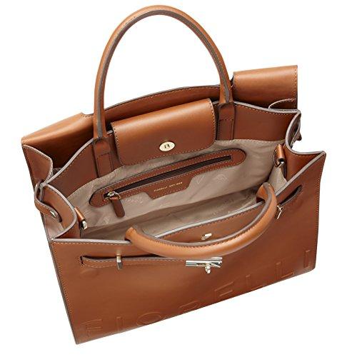 Fiorelli Damen Harlow Tasche, Einheitsgröße tan deboss