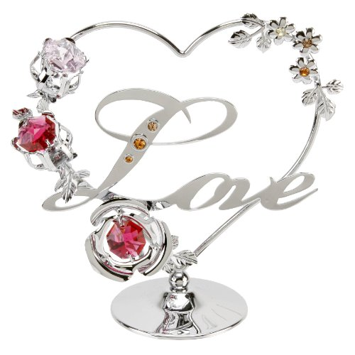 crystocraft-love-heart-with-red-pink-swarovski-crystal-flowers-sp524