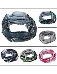 Bheema Multi Camouflage Scarf Cycling Bike Neck Face Mask Hat Cap Headwear
