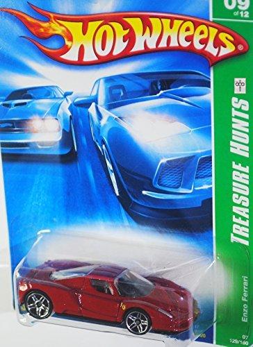 2007Treasure Hunt # 9Enzo Ferrari red and black Interior # 2007–129Collectible Collector porque Mattel Hot Wheels