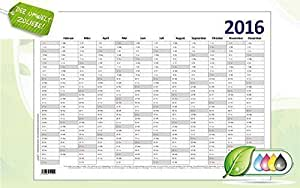 Certifié Calendrier Calendrier mural 2016(Affiche) DIN A1