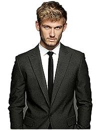 Landisun Exclusif 2inch Skinny Hommes Soie Cravate