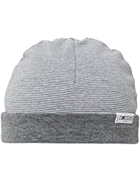 Noppies Unisex Baby Mütze U Hat REV Erin stripe, Gestreift