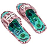 Acupressure Unisex Massage Slippers, Magnetic Therapy Massage Shoes Massage Slippers, Health Care Blood Activating Foot Relax