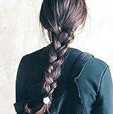 Landsell Haarverl?ngerung Rapunzel Zopf geflochten Haarteil Gretel Haarzopf Flechtzopf (versch. Farben) (hellbraun)