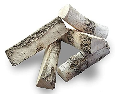 NEW BIG Fire Replacement Ceramic Logs BEST QUALITY-REALISTIC LOOK