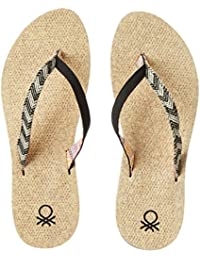United Colors Of Benetton Women's Flip-Flops And House Slippers - B01N16S6IX