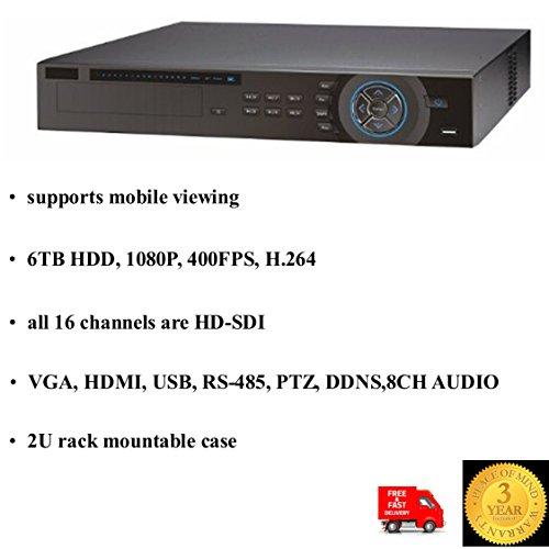 VIEW-PRO PROFESSIONAL 16 KANAL DVR HD-SDI SERIE 1080P, 6 TB, 2U, H.264 Dvr-serie