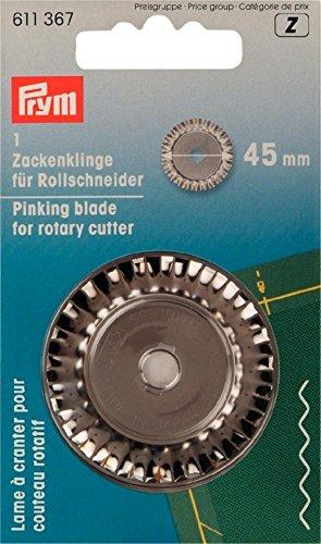 Prym Wave Klinge für Allzweckthermometer Zackenschere/Rollschneider, 45 mm