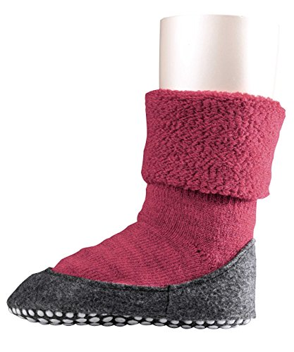 FALKE Cosyshoes - Chaussettes - Fille Rouge (carmine Red 8636)