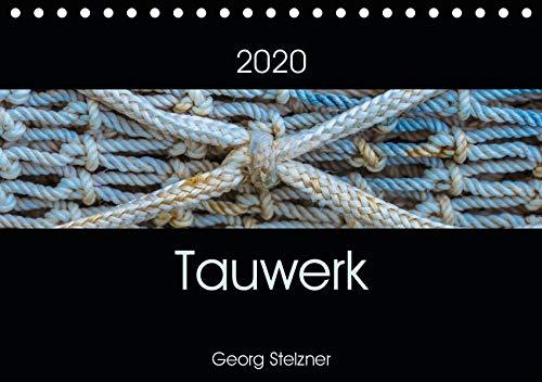 Fester Hafen (Tauwerk (Tischkalender 2020 DIN A5 quer): Schiffstaue - Ästhetik des Banalen. (Monatskalender, 14 Seiten ) (CALVENDO Kunst))