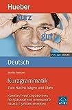 Kurzgrammatik Deutsch - Russisch: Zum Nachschlagen und Üben / Ausgabe Russisch