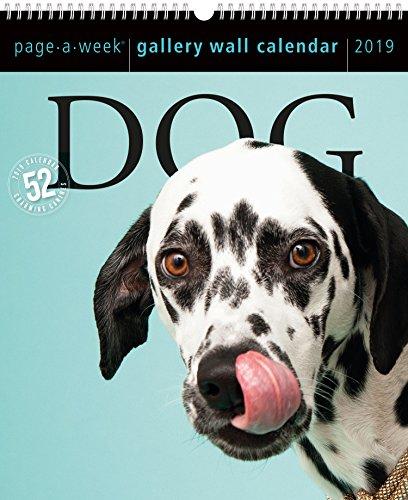 2019 Dog Gallery Wall Page-A-Week Gallery Wall Calendar