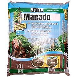 JBL Manado, suelo natural para acuarios de agua dulce, 10 Litros
