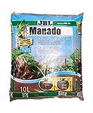JBL 6702400 Naturbodengrund für Süßwasser Aquarien, Manado 10 l, 67024