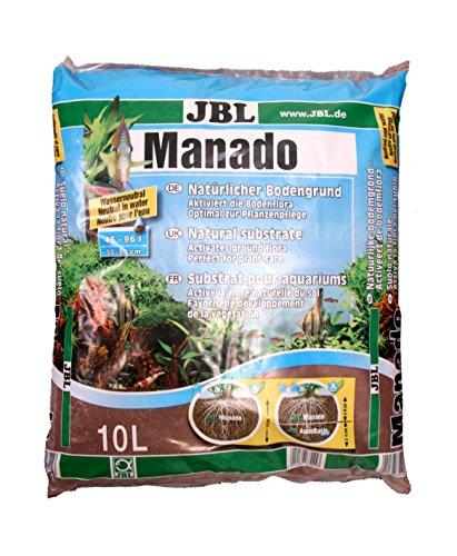 JBL 67024 Naturbodengrund für Süßwasser Aquarien Manado, 10 l -