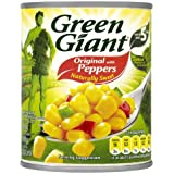 Géant Vert maïs sucré aux poivrons 12 x 198g