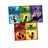 Percy Jackson Rick Riordan 5 Books Collection Pack Set(Percy Jackson and the Lightning Thief,Percy Jackson and the Battle of the Labyrinth,Percy Jackson and the Titan's Curse,Percy Jackson and the Sea of Monsters, Percy Jackson and the Last Olympian)