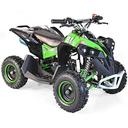 Pocket Quad Elektrische XL Kanada 1000W–Grün, ohne Montage, Lieferung in - 1000w Pocket Bike Elektro