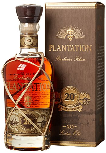Plantation Barbados Extra Old 20th Anniversary Rum (1 x 0.7 l) -